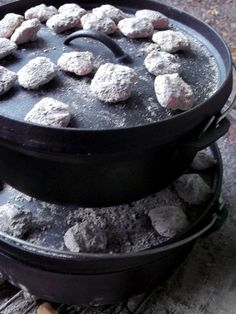 Little Farm in the Big City: Cooking Outside with Cast Iron