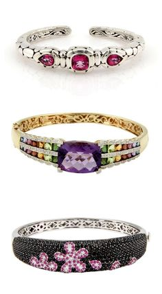 Gorgeous colorful bangles | TrueFacet.com #TrueMomStyle