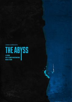 The Abyss - minimalist poster by H. Svanegaard, via Flickr
