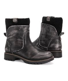 Step out in rocker-chic style with these distressed ankle boots flaunting a knit lining to keep your toes cozy on cooler days. Fashion Models, Fashion Brand, Fashion Edgy, Womens Fashion, Rock Chic, Ankle Boots, Shoe Boots, Dragon Ball, Winter Night Outfit