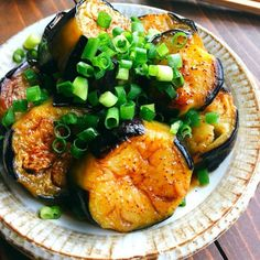 レシピ レシピ in 2020 Easy Cooking, Cooking Recipes, Asian Recipes, Healthy Recipes, Japanese Dishes, Eggplant Recipes, Cafe Food, No Cook Meals, Food Photo