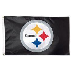 Pittsburgh Steelers WinCraft Deluxe 3u0027 X 5u0027 Flag
