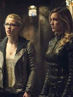 Felicity and Laurel.