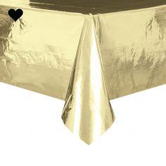 Tafelkleed goud foli