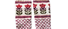 DIY Villasukat – neulo puolipitkät ja kauniit Kaupunki kukkii -sukat, Kotiliesi.fi Crochet Stitches, Knit Crochet, Knitting Socks, Knit Socks, Handicraft, Mittens, Knits, Crocheting, Craft