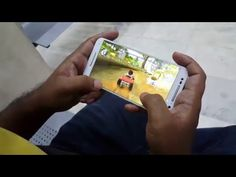 moto x pure 2015 playing racing game part 1