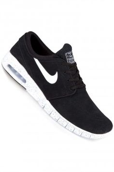 Stefan Janoski Max, black leather