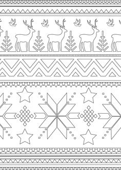 Amazon.fr - Hiver: 100 coloriages anti-stress Art-thérapie - Julie TERRAZZONI - Livres