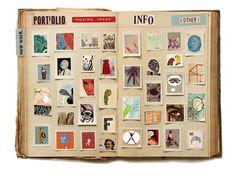 !!HOORAH IT'S NICK'S PORTFOLIO !! Possibility for fanzine: a funky photo album