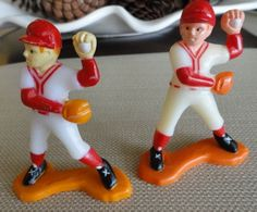 A419  Vintage Baseball Pitcher Cake Topper by ABGGoodStuff on Etsy