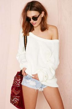 Nasty Gal Drop It Sweater | Shop What's New at Nasty Gal