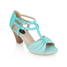 Chaussures Nu Pieds Pin-Up Rockabilly 50's Rétro Ellen