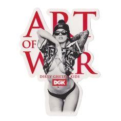 DGK Skateboards DGK Art Of War Sticker