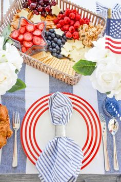 Happy 4 Of July, Fourth Of July, Perfect Triangles, Birthday Party Outfits, Party Themes, Party Ideas, Themed Parties, Patriotic Decorations, Charcuterie Board