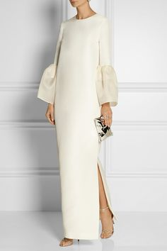 Roksanda | Dubois silk and cotton-blend gown | NET-A-PORTER.COM