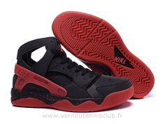 best service c6280 29910 Nike Air Flight Huarache Chaussure pour Homme Noir et rouge