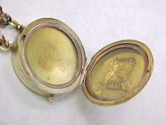 Victorian MASSIVE Slide Bracelet With Nouveau Locket Clasp from arnoldjewelers on Ruby Lane