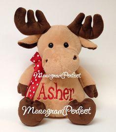 Personalized 16 Plush Moose Stuffed Animal by MonogramPerfect