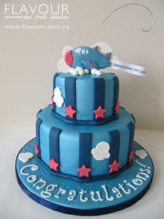 Airplane Cake Airplane Cakes, Airplane Party, Fondant Cakes, Cupcake Cakes, Cupcakes, Boy Birthday, Birthday Cakes, Torte Cake, Pretty Cakes