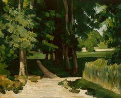 The Avenue at the Jas de Bouffan ca. 1874 - 75 by Paul Cezanne