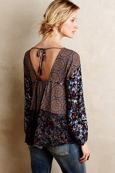Southland Peasant Blouse - anthropologie.com #anthrofave