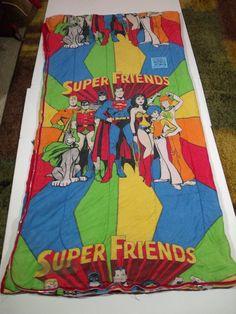 1970's SuperFriends Sleeping Bag