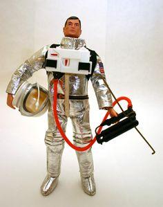 Vintage Toys: G.I. Joe Mercury Astronaut, 1960's