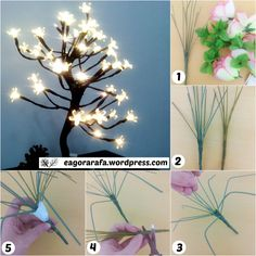 No natal essa árvore virou febre, acredito que vocês já devem ter visto várias decorações em casa de amigos, parentes e até mesmo em lojas e shopping. É uma árvore luminária, ela vende na loja Imag…