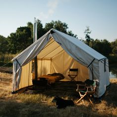 1000 ideas about canvas tent on pinterest wall tent for Woods prospector tent