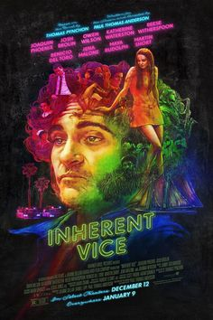 Inherent Vice is also based on a Thomas Pynchon novel, so there are of course some heavy wight ideas going on. Description from buddharhubarb.blogspot.com. I searched for this on bing.com/images