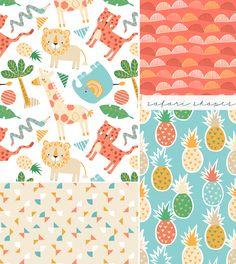 wendy kendall designs – freelance surface pattern designer » safarishapes