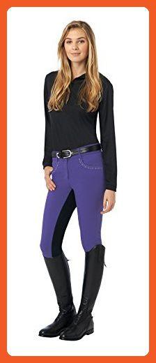 Ovation Women's Sorrento Full Seat Breeches Black 32 R US - Boots for women (*Amazon Partner-Link)