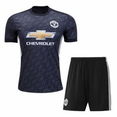 2017 Cheap Kit Manchester United Away Replica Suit [AFC234]