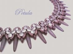 """MAPEDE ...Marion´s PerlenDesigns...: Collier """" Petula """"..."""