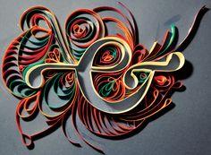 Paper cut by Viviane LEGER, via Behance