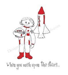 Girl astronaut!    #girls #clothing #empowerment #beauty