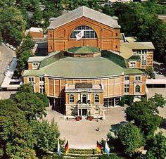 The Bayreuth Festspielhaus