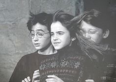 Ron getting that first good smell of Hermione's hair. The hair the he will smell all of his life