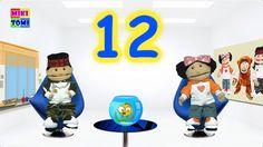Piosenki dla dzieci - Miesiące - ekipa MIKITOMI