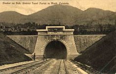 Bohinj tunnel which was opened in 1906 Franz Ferdinand_One of the main tunnels on the route of the new line connecting Central Europe with the Adriatic Sea. #bohinj #Slovenia #SloveniaHolidays #sloveniatourism #sloveniatravel #railway