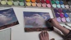 PanPastel Landscape Painting Techniques - Cloudy Skies https://www.youtube.com/watch?v=uuCjYKbGDtI&index=3&list=UU_oSNIw9kNkdsLixb1_tZsw #panpastel #pastel #sky #skies #cloud #cloudy #art #artist #artsupplies