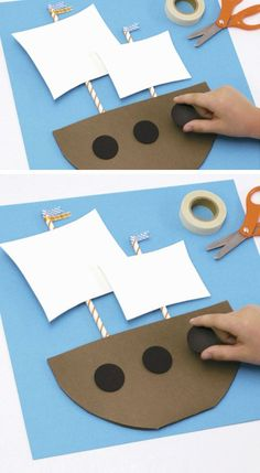 Mini Mayflower   Click Pic for 18 DIY Thanksgiving Crafts for Preschoolers to Make   Easy Thanksgiving Crafts for Kids to Make