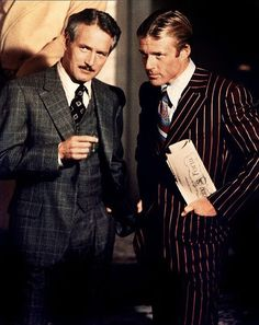 Paul Newman and Robert Redford ** The Sting, 1973