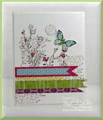 stamped collage cards - Google Search