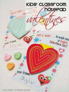 FREE Download :: Kids Classroom Valentines | Eye Candy Creative Studio #kidsvalentines #freeclassroomvalentines @eyecandycreate