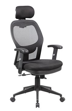 Anji Modern Furniture Fully Adjustable Mesh Office Computer Chair with Adjustable Lumbar Support, Armrests, Headrest and Multi-Position Recline Control, Black Wheels For Sale Home Office Furniture, Modern Furniture, Kids Bedroom Chairs, Luxury Office Chairs, Luxury Chairs, Reclining Office Chair, Swivel Chair, Inflatable Chair, Wooden Armchair