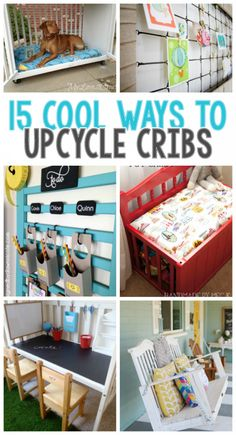 15 Cool Ways To Upcycle An Old Crib