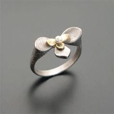 Layered Lotus Ring — Ai Jewelry