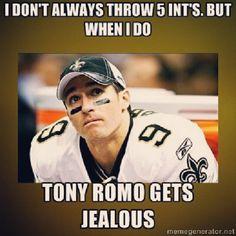 Bahahaha poor tony romo!