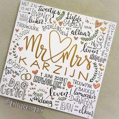 • Mr & Mrs Karzijn • ©️ ❤️❤️ Nog een bruiloft gisteren! Ook Mr & Mrs Karzijn stapten in het huwelijksbootje. @dian.spronk zorgde voor…